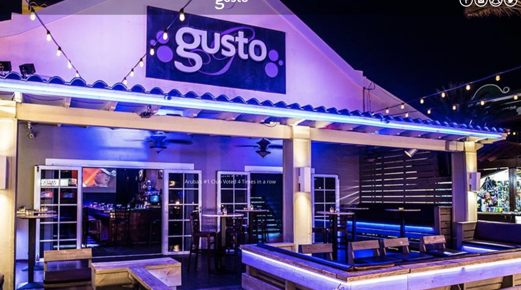 Gusto - Aquazul Aruba Apartments